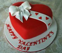 "Торт ""Happy Valentine's day"""