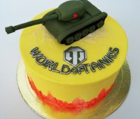 "Торт ""WORLD of TANKS"""